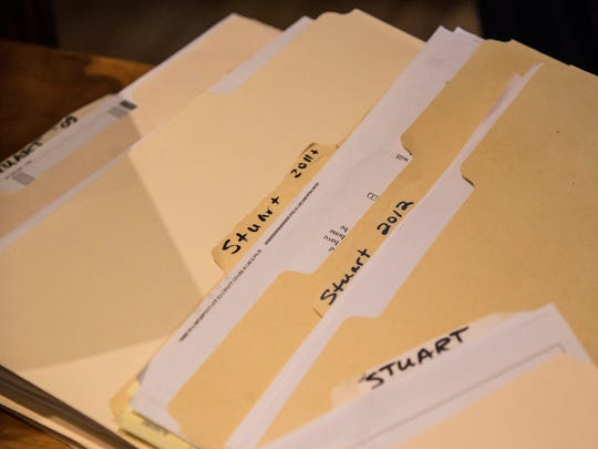 Anne Seaman can talk about her son's life by the treatments he was getting each year, each carefully filed in folders she keeps.