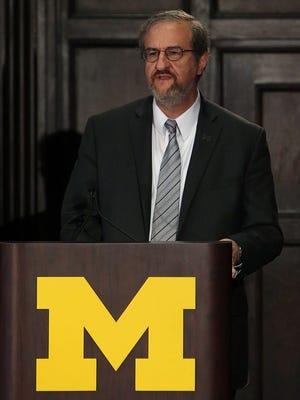 Michigan president Mark Schlissel