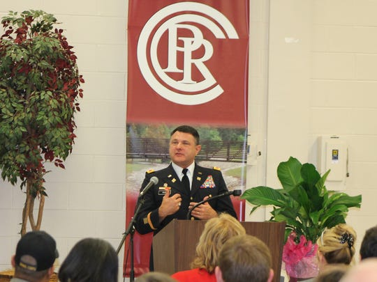 Col. Mark Prine talks about the role of citizen soldiers