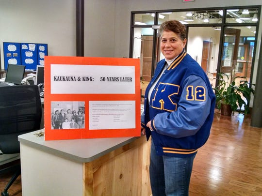 Joanne Williams, a former Milwaukee television reporter, has spent several years working on a documentary about a student exchange between Kaukauna High School and Rufus King High School in Milwaukee in 1966.