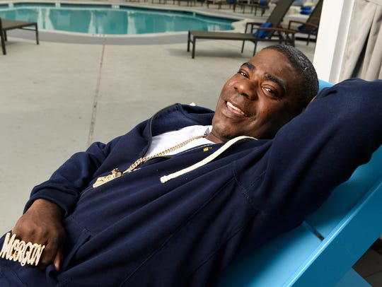 """I'm from Brooklyn,"" says Tracy Morgan. ""I have always"