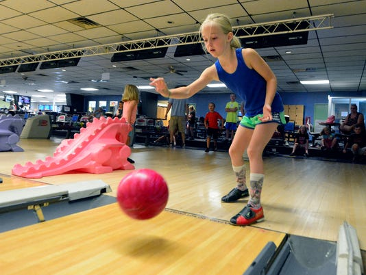 PHOTOS: Youth bowling at Colony Park
