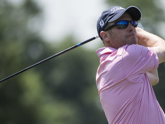 Two-time former champ Chris Gebhard is one of 27 golfers