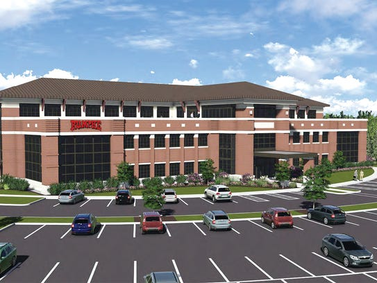 The new Rumpke Headquarters, shown in this rendering,