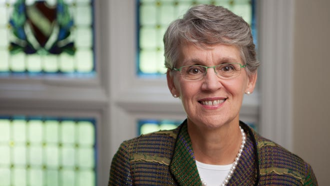 Catharine Bond Hill was the 10th president of Vassar College, and stepped down in August.