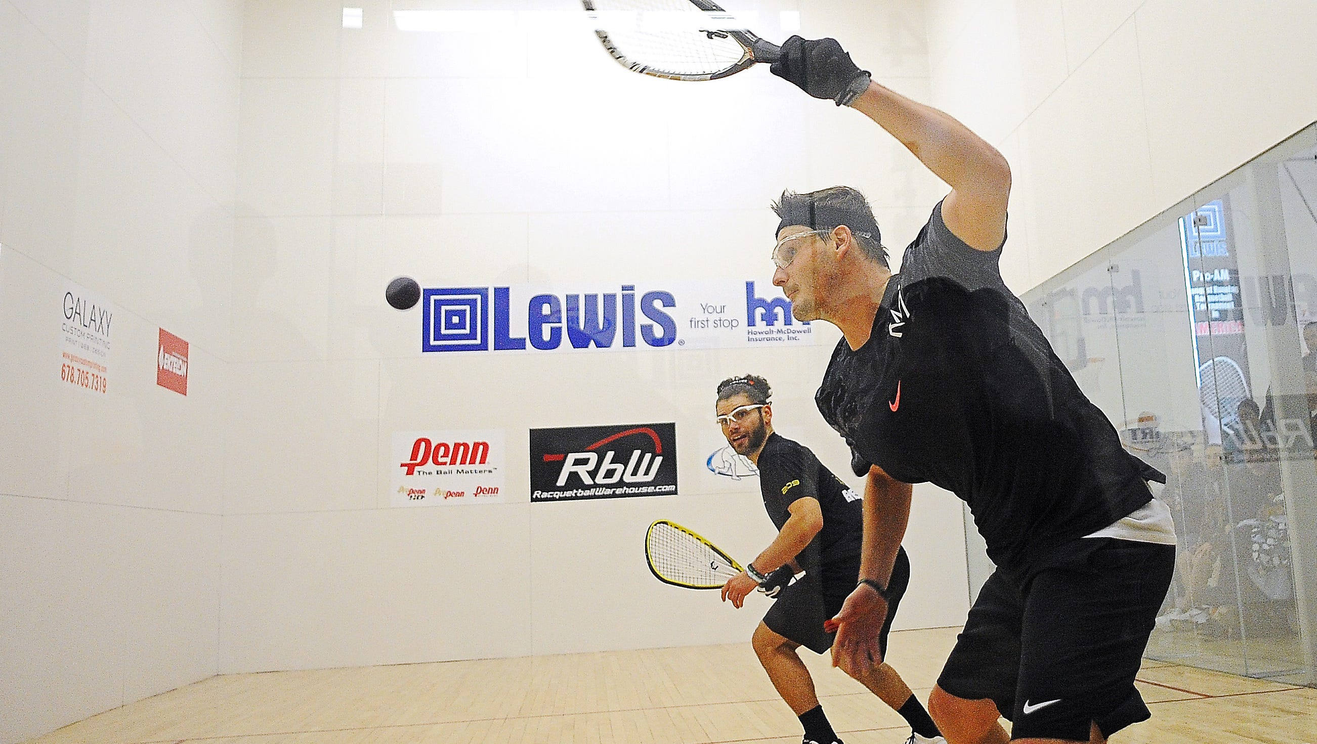Racquetball: Waselenchuk now a 3-time Lewis champ