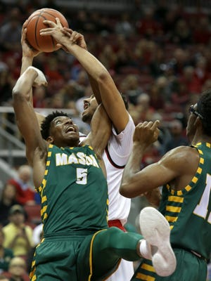 Louisville's game against George Mason to open this season was televised by Fox's regional sports networks.