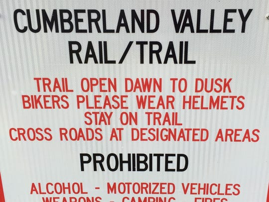 The Cumberland Valley Rail Trail could be extended from Shippensburg to Chambersburg.