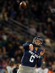 Ty Gangi is coming off back-to-back games with four touchdown passes, a first for a Nevada quarterback since 2002.