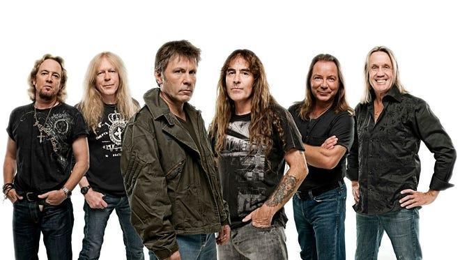 Iron Maiden will play the Palace of Auburn Hills on April 5.