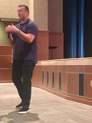 Chris Herren, a former Boston Celtic basketball player,
