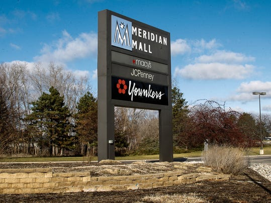 Meridian mall plans new retail building with drive thru for Exterior standalone retail