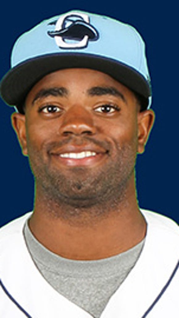Tampa Bay Rays minor league outfielder Andrew Toles