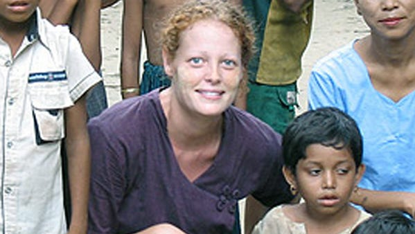 Kaci Hickox, shown in an undated photo provided by UT-Arlington, went to Maine after being forcibly quarantined in New Jersey for three days.