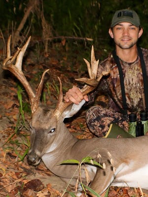 Land Smathers of Aberdeen harvested his biggest bow kill ever this week and joined the growing ranks of Mississippi's 2016 tropy club.