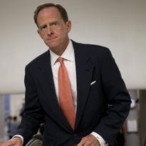 Sen. Pat Toomey, R-Pa., contends he works capably with Democrats, despite his conservative voting record.