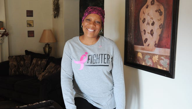 The late Amy Gaiters in 2014. Gaiters, who battled breast cancer twice, passed away on Thursday.