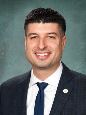 State Sen. Tom Barrett, R-Charlotte.