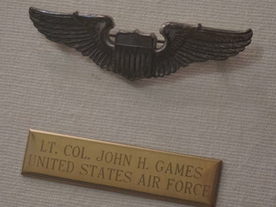 Howard Games served in the Air Force Reserves until