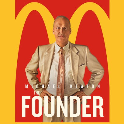 """The poster for """"The Founder."""""""