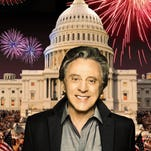 Frankie Valli performs on A Capitol Fourth live on PBS on July 4, 2014.