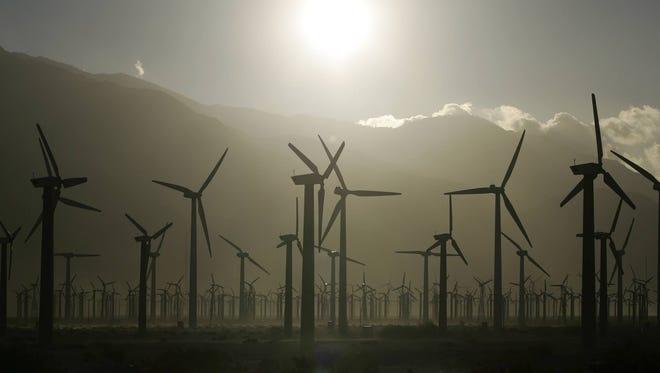Coachella Valley windmills