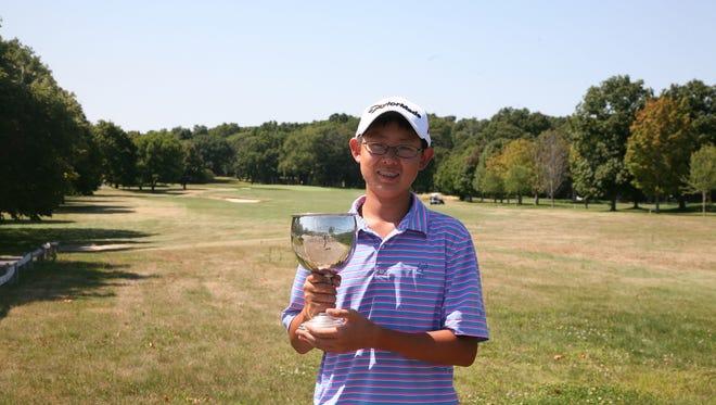 Nathan Han won the MGA/MetLife Boys Championship at Gardiner's Bay.