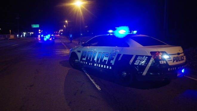 The scene where a pedestrian was fatally struck while standing in a Highway 70 lane.