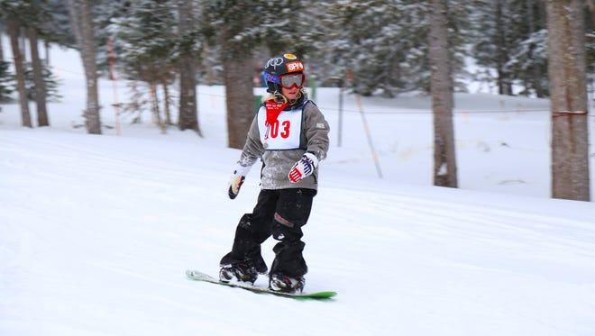 The Ski Apache school ski program began Jan. 20.