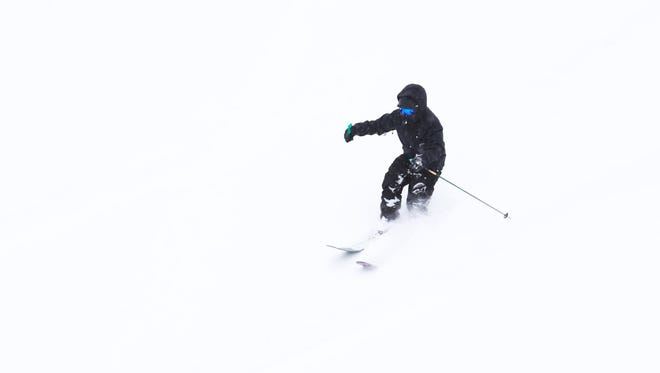 Ski Apache is attracting big crowds for skiing and snowboarding this season.