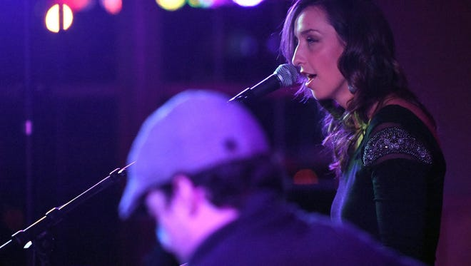 Artist Jenn Bostic performs at the Vox Concert Series. The Vox Concert Series received a big boost in recognition as it was announced as finalist for the Governor's Arts, Culture & Heritage Award.