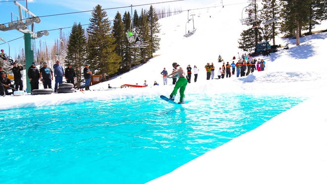 Go to skiapache.com for details about spring break skiing at Ski Apache.