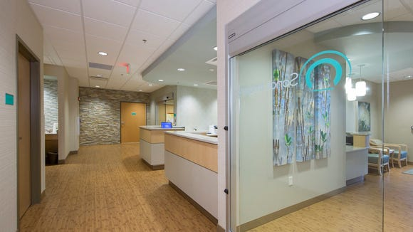 Sonos Imaging in Prattville features patient suites instead of waiting rooms.