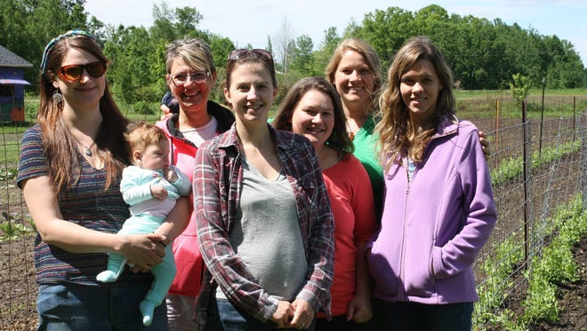 Members of the Central Wisconsin Doulas