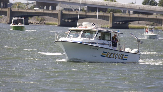 A German sherpherd was found washed up recently in the Shark River Inlet, seen in this 2010 file photo.