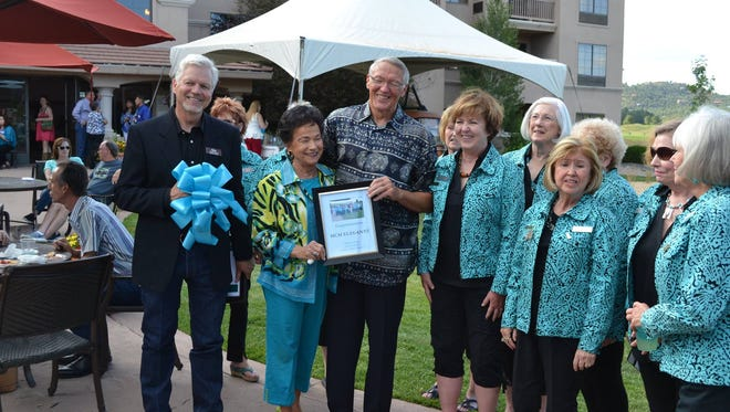 MCM Elegante Lodge and Suites celebrated their grand opening in style with a Wednesday evening Business After Hours gathering and ribbon cutting.