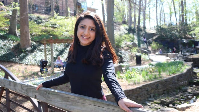 Nikhita Chaubey, 17, of Southside High School was selected to attend the Four Star Leadership program with General Tommy Franks.