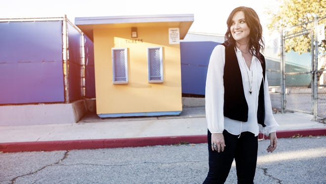 """Brandy Clark says her father's death in 2001 gave her a new appreciation for hometown in Washington state. """"When I started to love my small town was when I came back for his funeral, and it was so big they had to have it in the gym,"""" she recalls."""