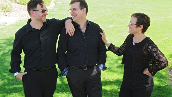 The iPazzolla da Camera Trio with Andrew Nickles, Oscar Macchioni and Carla Kountoupes is set to perform Saturday and Sunday at Sacred Grounds Coffee and Teahouse.  LikeShow More ReactionsCommentShare Top comments 27 27 Comments Cristina Kreczman Cristina Kreczman APLAUSOSSSS!!!!!! Like · Reply · 27 August at 19:51 Deborah Svedman Deborah Svedman You look as good as you sound! Like · Reply · 27 August at 16:18 Celina Lis Celina Lis Que linda foto! Like · Reply · 28 August at 07:50 Michelle Huey  Write a comment...   孙 梁 Confirm friend Andrew Nickles's photo. Andrew Nickles's photo.  Andrew Nickles