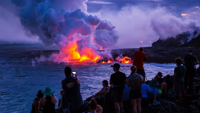 Forty-three years before Hawaii became a state, Hawai'i Volcanoes National Park on the Big Island of Hawai'i was established in 1916 (originally as Hawai'i National Park, along with Haleakalä on Maui).