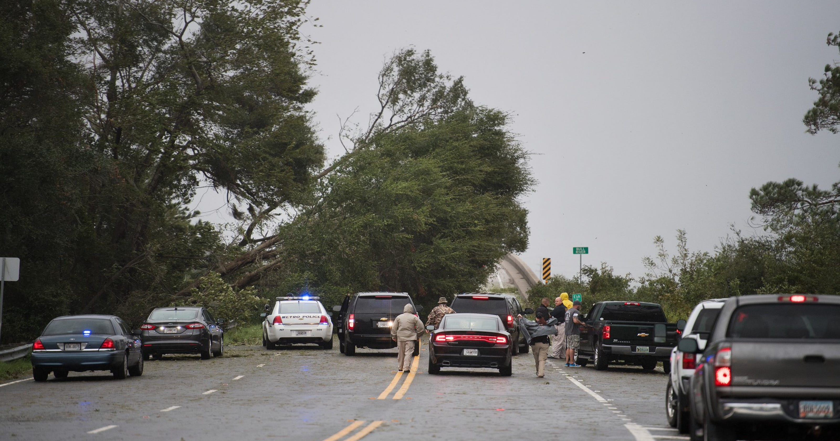 Damage in Savannah not as high as feared, but tragedy still