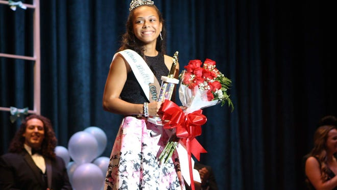 Daleishka Torres was named Miss Holly City during a contest held on Oct. 6 at Millville Senior High School.