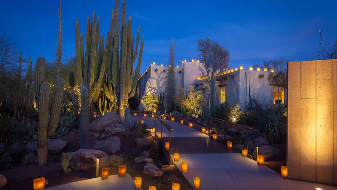 Help Season For Sharing At Desert Botanical Garden S Luminaria Nights