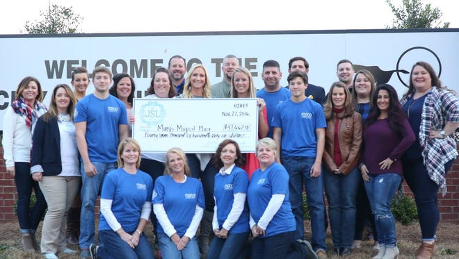 Members of Junior Service League of Hendersonville raised more than $47,000 for Mary's Magical Place.