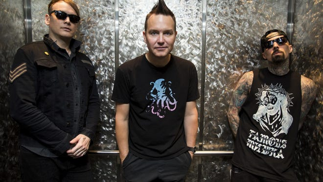 Blink 182 is coming to the Pensacola Bay Center May 2.