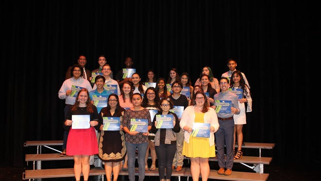 Students, student council sponsors, parents and district administration attended the 2016-17 Student Leader Reception Ceremony Feb. 16.