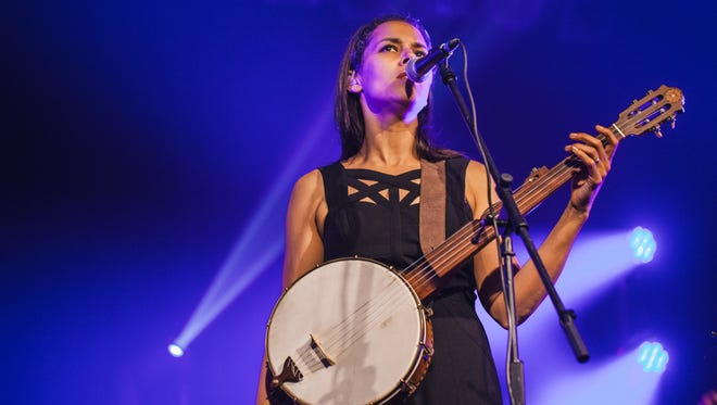 Rhiannon Giddens of the Carolina Chocolate Drops performed as a solo act April 26 at Turner Hall Ballroom.