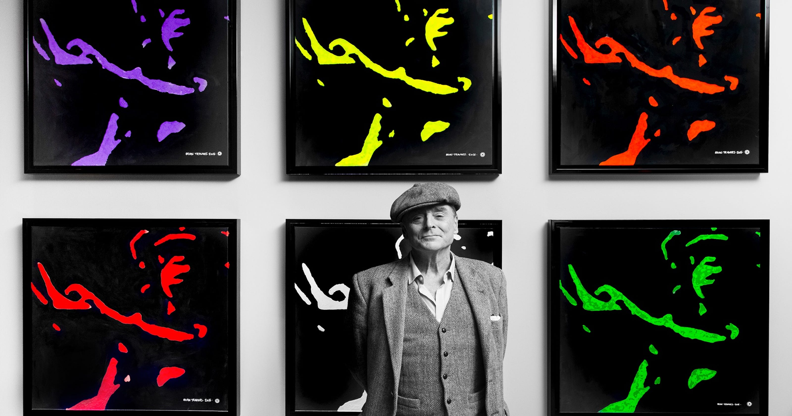 UB40 founder, saxophonist Brian Travers to show artwork at
