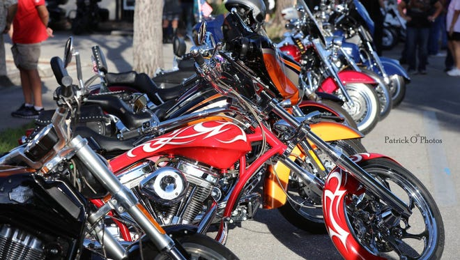Between 12,000 and 15,000 people are expected to attend Cape Coral's final Bike Night of the season.