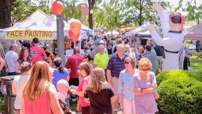 Great weather added to the allure of a great fair and brought thousands to the Collierville Town Square for its annual Fair on the Square.
